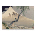Mount Fuji View Wall Art Print