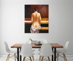 The Pianist on the wall