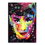 Shining Woman Wall Art Print