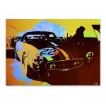 Ferrari Race Car Wall Art Print