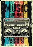Party Music Wall Art Print