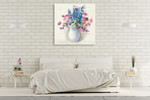 Bright Bouquet I Wall Art Print on the wall