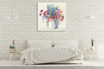 Bright Bouquet II Wall Art Print on the wall