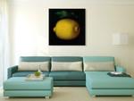 Lemon Wall Art Print on the wall