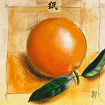The Orange Fruit Wall Art Print