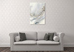Ephemere Ink Flow Wall Art Print on the wall