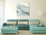 Manifest Ink Flow Wall Art Print on the wall