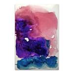 Misty Surreal Ink Flow II Wall Art Print