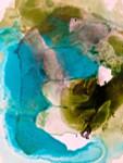 Translucent Ink Flow VII Wall Art Print