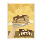 Pancake Palace Wall Art Print