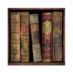 In The Library I Wall Art Print