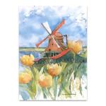 Dutch Vignette Wall Art Print