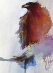 Rainbow Eagle Wall Art Print