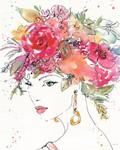 Floral Figures II Wall Art Print