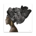 Pure Style Black I Wall Art Print