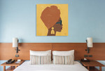 Kenya Couture I Wall Art Print on the wall