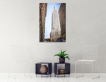 Empire State Building II Wall Art Print on the wall