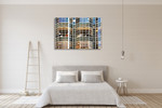 Office Building San Francisco Wall Art Print on the wall
