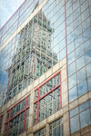 Skyscraper Reflections Boston Wall Art Print