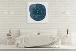 Horoscope Aquarius Wall Art Print on the wall