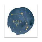 Horoscope Aries Wall Art Print