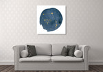 Horoscope Aries Wall Art Print on the wall