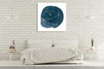 Horoscope Capricorn Wall Art Print on the wall