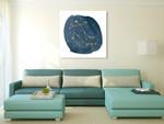 Horoscope Gemini Wall Art Print on the wall