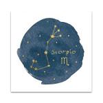 Horoscope Scorpio Wall Art Print