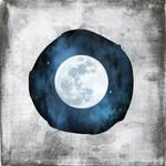 The Blue Full Moon Wall Art Print