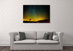 The Universe Wall Art Print on the wall