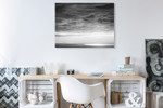 Cloud Formation Wall Art Print on the wall