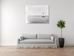 Evening Sail Wall Art Print on the wall