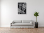 Linear Motion IV Wall Art Print on the wall