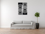 Linear Motion V Wall Art Print  on the wall