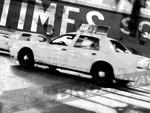 Times Square Taxi II Wall Art Print