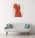 All Dressed Up I Wall Art Print on the wall