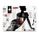 High Fashion Woman I Wall Art Print