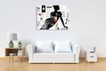 High Fashion Woman I Wall Art Print on the wall