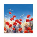 Poppy Meadow I Wall Art Print