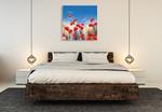 Poppy Meadow I Wall Art Print on the Wall