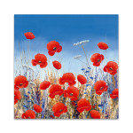 Poppy Meadow II Wall Art Print