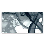 Grey Smoke Wall Art Print