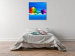 Rainbowl I Wall Art Print on the wall