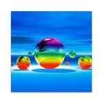 Rainbowl II Wall Art Print