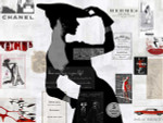 High Fashion Woman II Wall Art Print