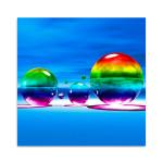 Rainbowl III Wall Art Print
