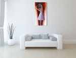 Ballet Dream Wall Art Print on the wall