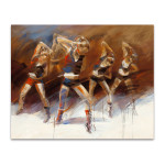 Dance Up Wall Art Print