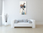 Jazzy and Glamour Wall Art Print on the wall
